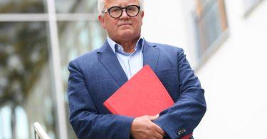 Fritz Keller entschuldigte sich nochmals für seine Entgleisung, will seinen Posten aber nicht räumen. Foto: Arne Dedert/dpa