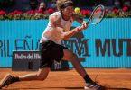 Alexander Zverev hat sich im Viertelfinale von Madrid gegen Rafael Nadal durchgesetzt. Foto: Bernat Armangue/AP/dpa