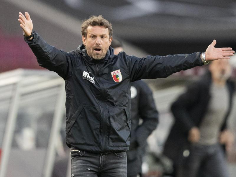 Der FC Augsburg verlor auch unter Markus Weinzierl. Foto: Tom Weller/dpa