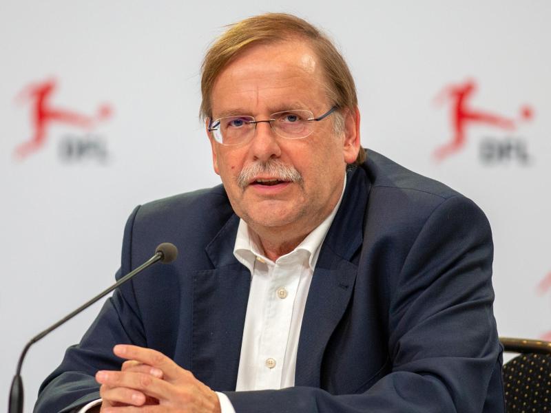 Hat die Entschuldigung von Fritz Keller entgegengenommen: DFB-Vize Rainer Koch. Foto: Andreas Gora/dpa