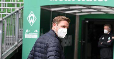 Befürworter, aber kein Freund von Quarantäne-Traingslagern: Werder-Coach Florian Kohfeldt. Foto: Carmen Jaspersen/dpa