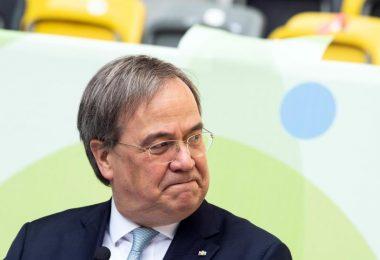 Will Olympia an Rhein und Ruhr holen: NRW-Ministerpräsident Armin Laschet. Foto: Federico Gambarini/dpa Pool/dpa