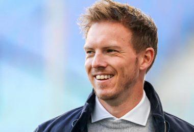 Will sich mit dem Pokalsieg aus Leipzig Richtung München verabschieden: RB-Coach Julian Nagelsmann. Foto: Jan Woitas/dpa-Zentralbild/dpa