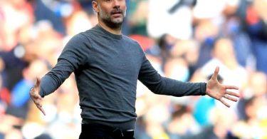Will nach dem Meistertitel nun auch den Königsklassenpokal nach Manchester holen: ManCity-Coach Pep Guardiola. Foto: Adam Davy/PA Wire/dpa