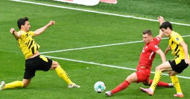 Begegnung zwischen Borussia Dortmund und RB Leipzig am 32. Spieltag im Signal Iduna Park. Foto: Martin Meissner/dpa