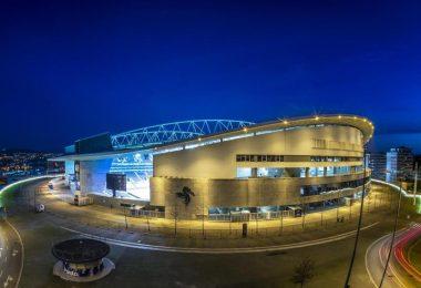 Das Finale der Champions League findet in diesem Jahr im Estádio do Dragão in Porto statt. Foto: Luis Vieira/AP/dpa