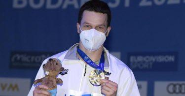 Bereit für seine letzten Olympischen Spiele: Wasserspringer Patrick Hausding. Foto: Tamas Kovacs/MTI/dpa