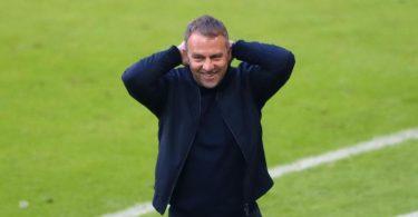Hansi Flick ist ein heißer Kandidat für das Amt des Bundestrainers. Foto: Matthias Schrader/AP-Pool/dpa