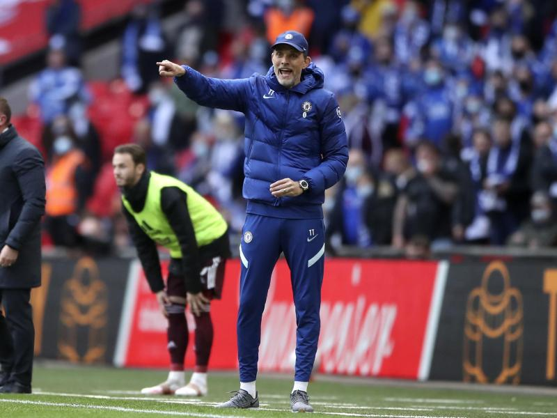 Thomas Tuchel hat seinen ersten Titel mit Chelsea verpasst. Foto: Nick Potts/Pool PA/AP/dpa