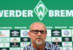 Soll Werder Bremen am letzten Spieltag vor dem Abstieg retten: Thomas Schaaf. Foto: Carmen Jaspersen/dpa