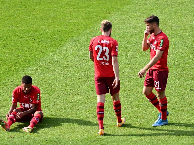 Nach dem 0:0 der Kölner bei Hertha BSC ist der FC unter Druck. Foto: Soeren Stache/dpa-Pool/dpa