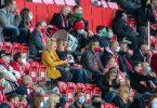 Der 1. FC Union Berlin möchte vor Zuschauern spielen. Foto: Andreas Gora/dpa-Pool/dpa