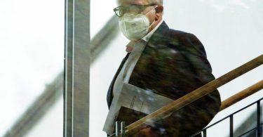 Fritz Keller tritt als DFB-Präsident zurück. Foto: Sebastian Gollnow/dpa