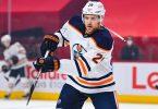 Edmonton Oilers Leon Draisaitl aus Deutschland spielt in den NHL-Playoffs. Foto: David Kirouac/CSM via ZUMA Wire/dpa