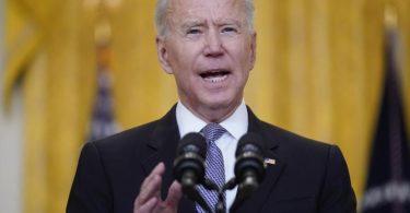US-Präsident Joe Biden spricht sich im Nahost-Konflikt für eine Waffenruhe aus. Foto: Evan Vucci/AP/dpa