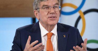 IOC-Präsident Thomas Bach war der Vorgänger von Alfons Hörmann beim DOSB. Foto: Greg Martin/IOC/dpa