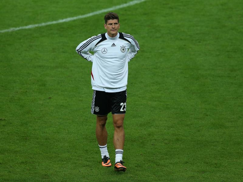 Torjäger Mario Gomez fehlte 2014 im WM-Aufgebot. Foto: picture alliance / dpa