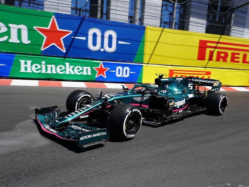 Fuhr beim ersten Monaco-Training auf Platz acht: Sebastian Vettel. Foto: Hasan Bratic/dpa