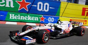Leistete sich in Monaco einen Crash: Mick Schumacher. Foto: Hasan Bratic/dpa