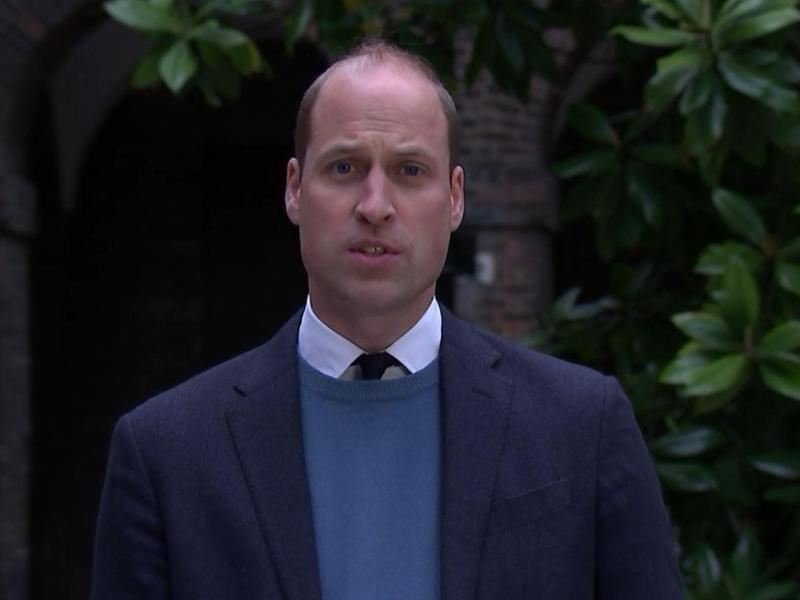 Prinz William kritisiert die BBC für ihre Versäumnisse rund um das vor mehr als 25 Jahren geführte Interview mit seiner Mutter, Prinzessin Diana. Foto: Itn/PA Wire/dpa