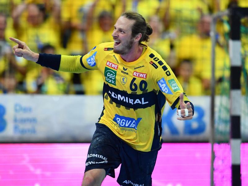 Kehrt extra für das Finalturnier der European League zu den Rhein-Neckar Löwen zurück: Kim Ekdahl du Rietz. Foto: Uwe Anspach/dpa