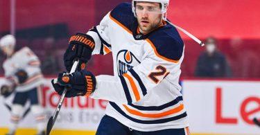 Leon Draisaitl ist der Superstar der Edmonton Oilers. Foto: David Kirouac/CSM via ZUMA Wire/dpa