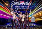 Italien hat mit dem rockigen Protestsong «Zitti e buoni» der Band Måneskin den Eurovision Song Contest in Rotterdam gewonnen. Foto: Sander Koning/ANP/dpa