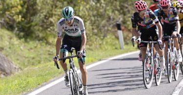 Musste den 104. Giro d'Italia vorzeitig beenden: Emanuel Buchmann. Foto: Fabio Ferrari/LaPresse via ZUMA Press/dpa