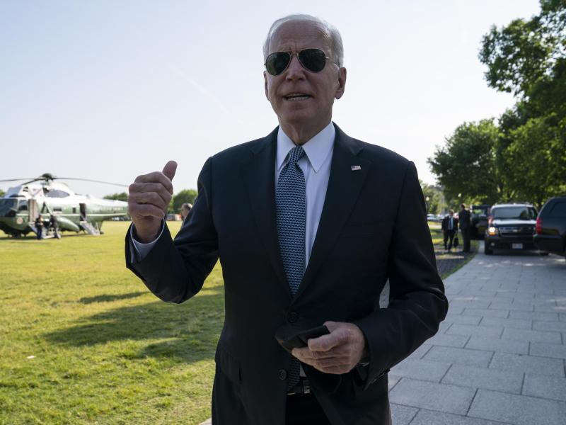 US-Präsident Joe Biden hat amerikanische Geheimdienste beauftragt, dem Ursprung der Corona-Pandemie auf den Grund zu gehen. Foto: Evan Vucci/AP/dpa
