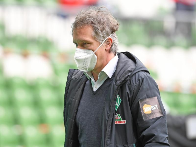 Will zeitnah einen neuen Werder-Trainer präsentieren: Frank Baumann. Foto: Carmen Jaspersen/dpa