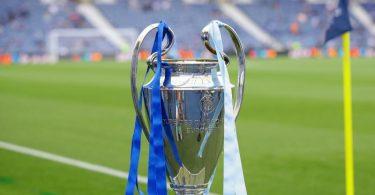 Das Objekt der Begierde: Die Champions-League-Trophäe. Foto: David Klein/CSM via ZUMA Wire/dpa