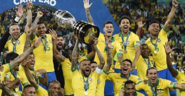 2019 gewann Brasilien die Copa América im eigenen Land. Foto: Victor R. Caivano/AP/dpa