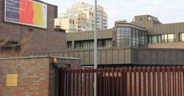 Die deutsche Botschaft in Moskau. Foto: picture alliance / dpa