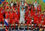 Triple-Sieger, Weltfußballer, Welttorhüter: Der FC Bayern München räumte 2020 alles ab. Foto: Julian Finney/Getty Images via UEFA/dpa