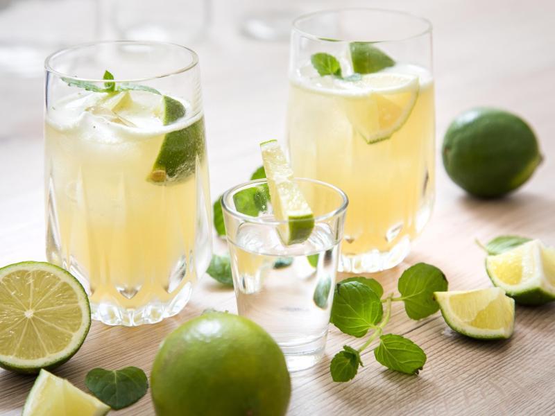 Im Cocktail funktioniert Tequila besonders in Kombination mit Limetten. Er heißt dann Tequila Mint Smash. Foto: Christin Klose/dpa-tmn