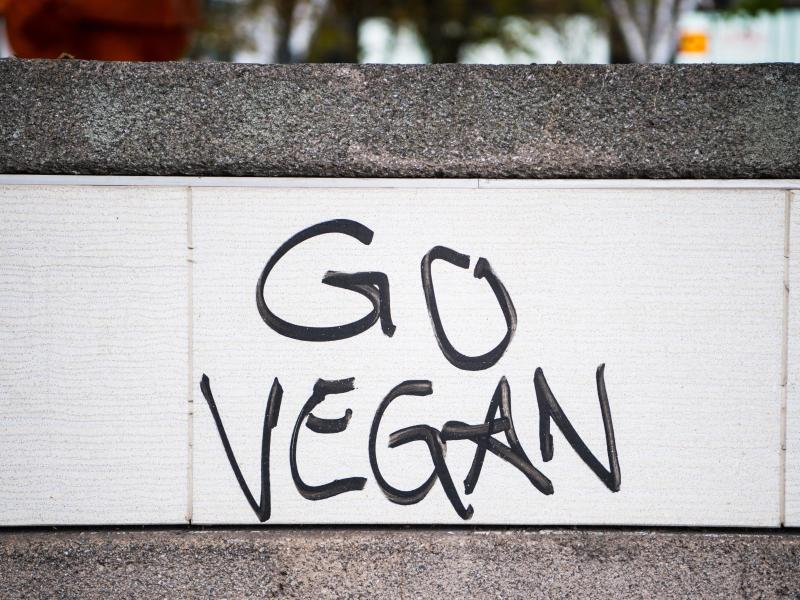 Die virale Aktion «Veganuary» wurde im Jahr 2014 ins Leben gerufen. Foto: Andreas Arnold/dpa/Illustration