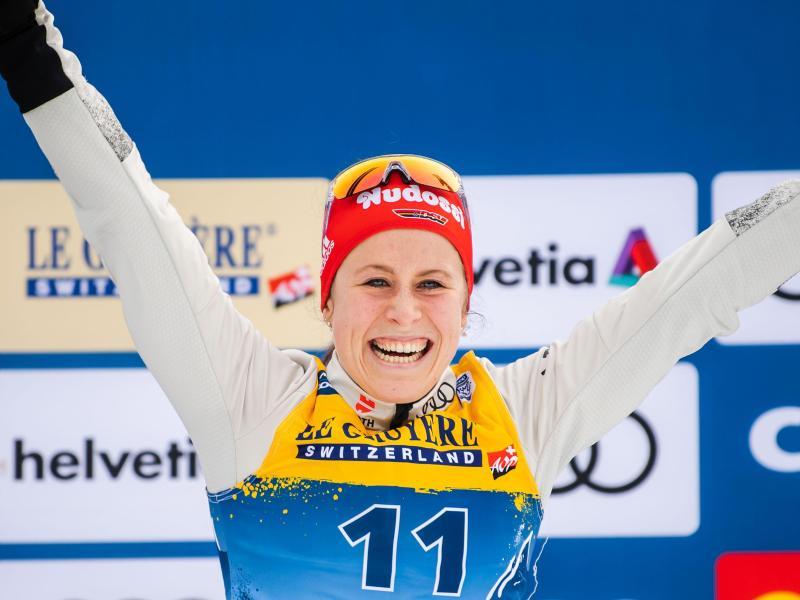 Überzeugte bei der Tour de Ski: Langläuferin Katharina Hennig. Foto: Mathias Bergeld/Bildbyran via ZUMA Press/dpa