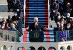 US-Präsident Joe Biden hält seine Antrittsrede. Foto: Patrick Semansky/AP/dpa