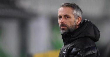 Trainer Marco Rose wird Borussia Mönchengladbach verlassen. Foto: Swen Pförtner/dpa