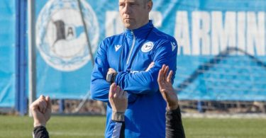 Soll Arminia Bielefeld vor dem Abstieg retten: Frank Kramer. Foto: Friso Gentsch/dpa