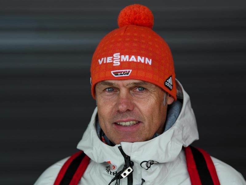 Hört nach der Saison als Bundestrainer der deutschen Skispringerinnen auf:Andreas Bauer. Foto: Hendrik Schmidt/dpa-Zentralbild/dpa