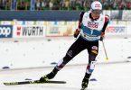 Der österreischische Kombinierer Johannes Lamparter siegt im Einzel (Großschanze/10 km). Foto: Karl-Josef Hildenbrand/dpa