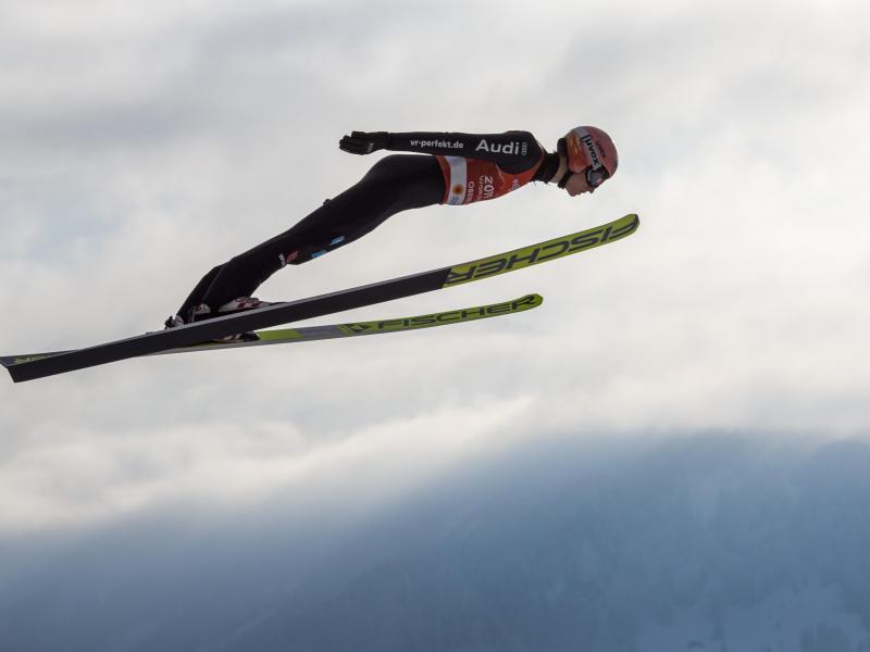 Karl Geiger glänzte bei der Heim-WM. Foto: Daniel Karmann/dpa