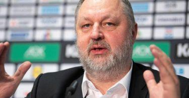 Der Präsident des Deutschen Handballbunds (DHB): Andreas Michelmann. Foto: Marius Becker/dpa