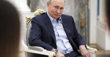 Russlands Präsident Wladimir Putin am vergangenenDonnerstag während einer Veranstaltung im Kreml. Foto: Alexei Druzhinin/Pool Sputnik Kremlin/AP/dpa