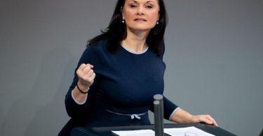 Gitta Connemann sieht die CDU in der «schwersten Krise seit der Spendenaffäre». Foto: Kay Nietfeld/dpa/Archiv