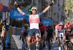 JasperStuyven durfte über den Sieg bei Mailand-Sanremo jubeln. Foto: Gian Mattia D'alberto/LaPresse/dpa