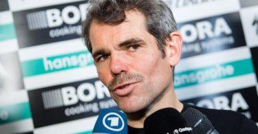 Ist über Äußerungen seines Managerkollegen Patrick Lefevere verärgert: Ralph Denk, Teammanager von Bora-hansgrohe. Foto: Matthias Balk/dpa
