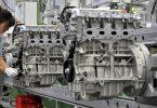 Vierzylinder-Benzinmotoren beim Automobilzulieferer MDC Power in Kölleda. Foto: Martin Schutt/dpa-Zentralbild/dpa