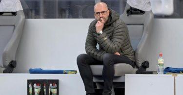 Muss gehen als Leverkusen-Trainer: Peter Bosz. Foto: Soeren Stache/dpa-Zentralbild/Pool/dpa